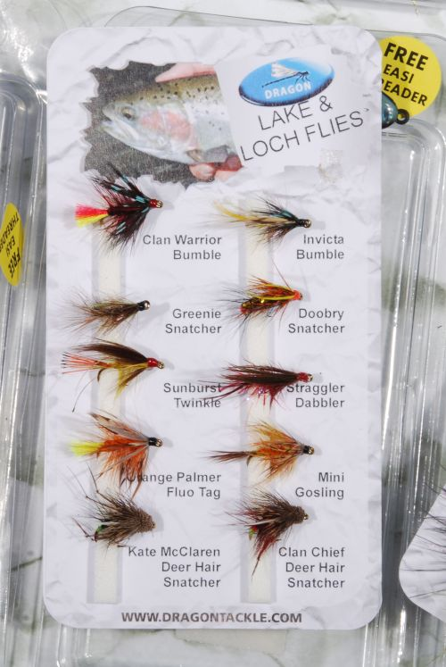 Lake & loch flies - 10 kpl