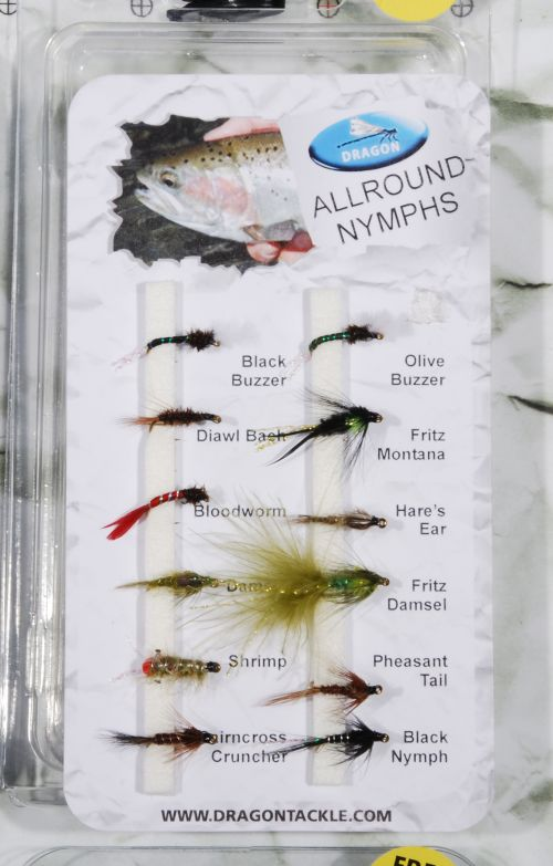 Allround nymphs - 10 kpl