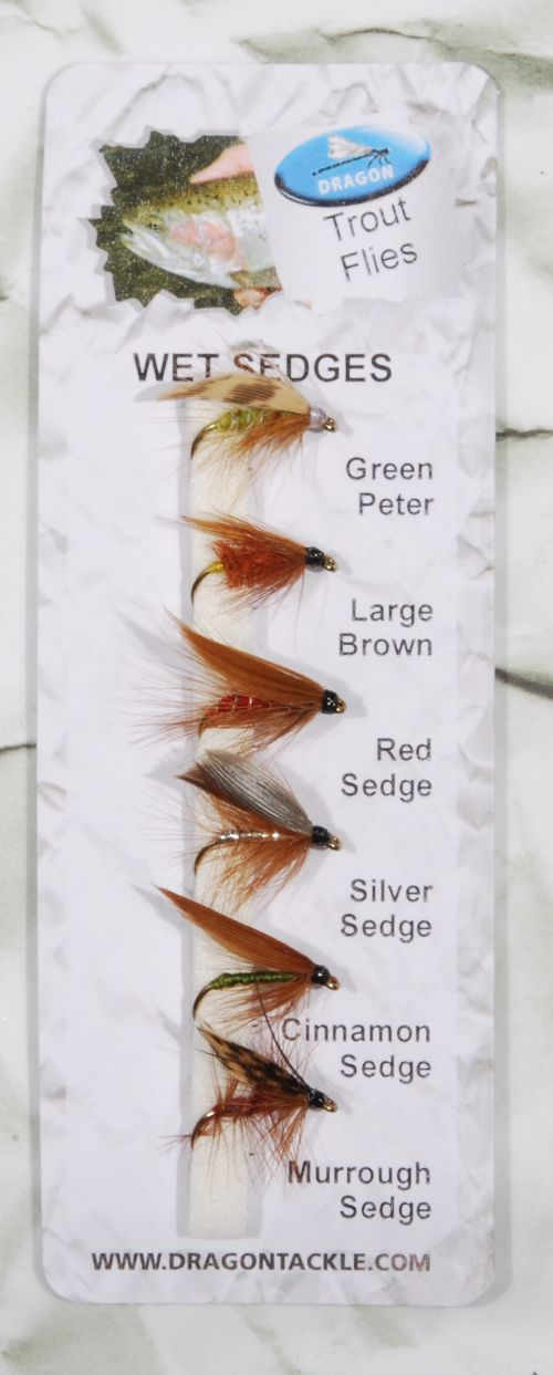 WET SEDGES – 6 kpl