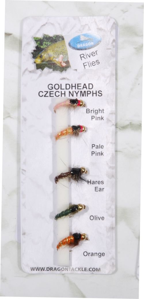 GOLDHEAD CZECH NYMPHS– 5 kpl