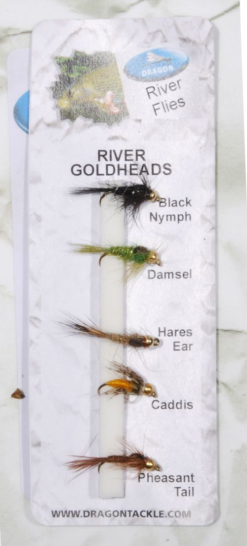 RIVER GOLDHEADS – 5 kpl